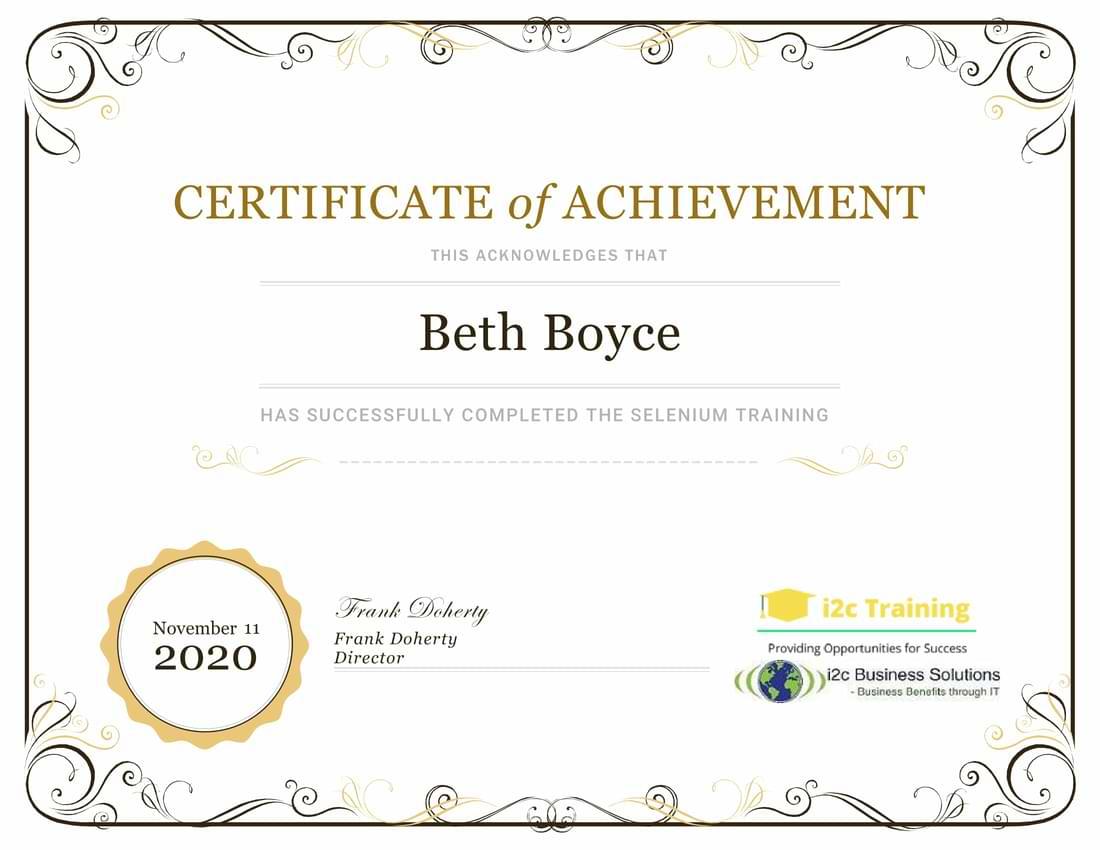 i2cbs_selenium-Training_Certificate-1
