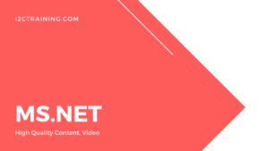 MS.Net online-course-I2ctraining