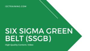 Six Sigma Green Belt (SSGB) online course I2ctraining
